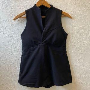 Lululemon black tank top. Size 8